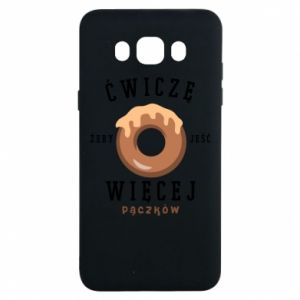 Samsung J7 2016 Case I work out to eat