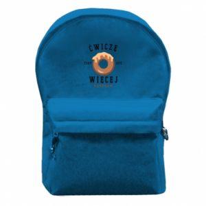 Plecak z przednią kieszenią Сwiecze zeby jesc