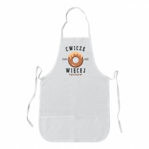Apron I work out to eat