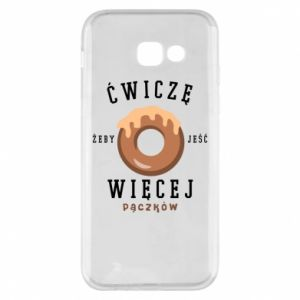 Phone case for Samsung A5 2017 I work out to eat