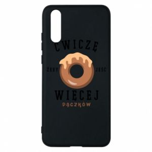 Phone case for Huawei P20 I work out to eat