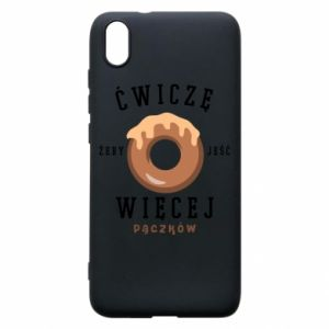 Phone case for Xiaomi Redmi 7A I work out to eat