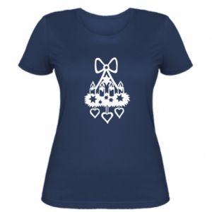 Women's t-shirt Candlestick