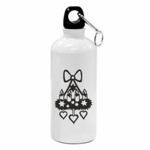 Water bottle Candlestick