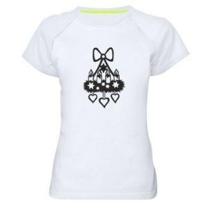 Damska koszulka sportowa Świecznik