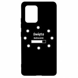 Etui na Samsung S10 Lite Święta ładowanie