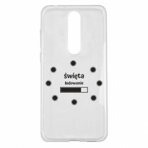 Etui na Nokia 5.1 Plus Święta ładowanie