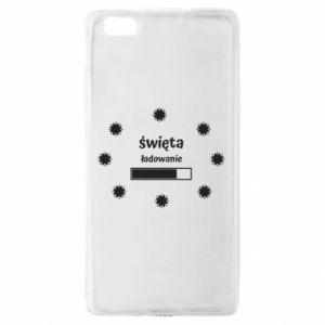 Etui na Huawei P 8 Lite Święta ładowanie