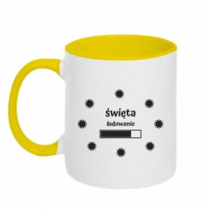 Two-toned mug Download Holidays