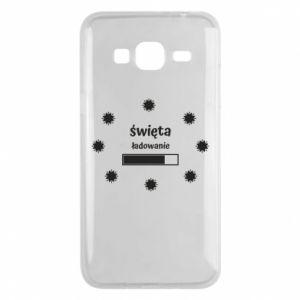 Phone case for Samsung J3 2016 Download Holidays