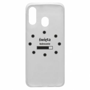 Phone case for Samsung A40 Download Holidays