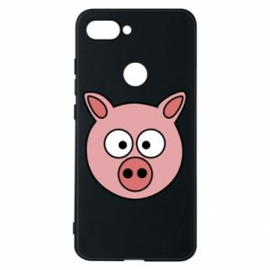 Etui na Xiaomi Mi8 Lite Świnia