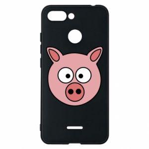 Phone case for Xiaomi Redmi 6 Pig