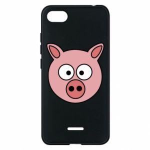 Phone case for Xiaomi Redmi 6A Pig