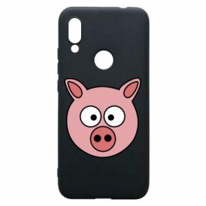 Phone case for Xiaomi Redmi 7 Pig