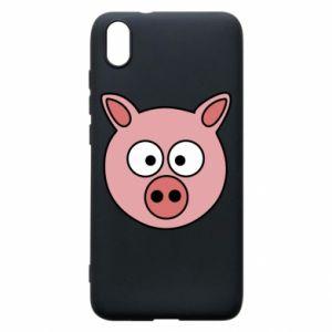 Etui na Xiaomi Redmi 7A Świnia
