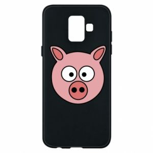 Phone case for Samsung A6 2018 Pig