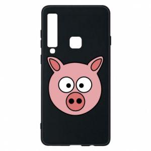 Etui na Samsung A9 2018 Świnia