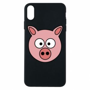 Phone case for iPhone Xs Max Pig