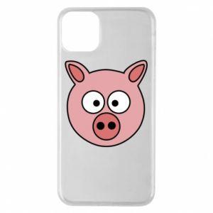Etui na iPhone 11 Pro Max Świnia