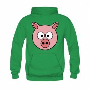 Kid's hoodie Pig