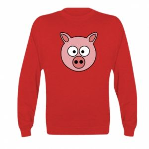 Kid's sweatshirt Pig