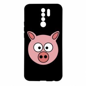 Xiaomi Redmi 9 Case Pig