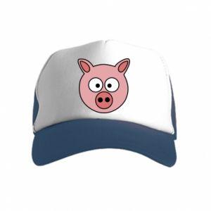Kid's Trucker Hat Pig