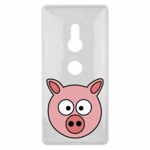 Sony Xperia XZ2 Case Pig