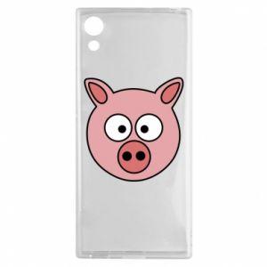 Sony Xperia XA1 Case Pig