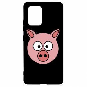 Samsung S10 Lite Case Pig