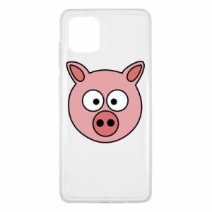 Samsung Note 10 Lite Case Pig