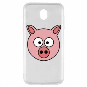 Samsung J7 2017 Case Pig