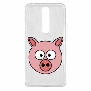 Nokia 5.1 Plus Case Pig