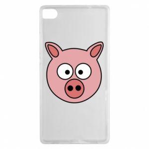 Huawei P8 Case Pig