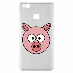Huawei P9 Lite Case Pig