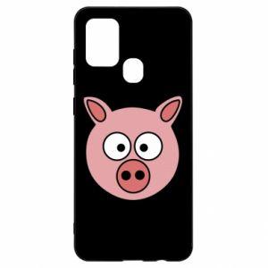 Samsung A21s Case Pig