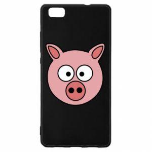 Huawei P8 Lite Case Pig