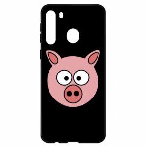 Samsung A21 Case Pig