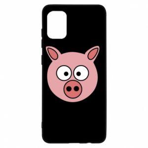 Samsung A31 Case Pig