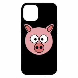 iPhone 12 Mini Case Pig