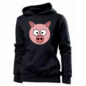 Women's hoodies Pig