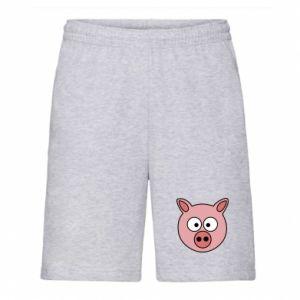 Męskie szorty Świnia
