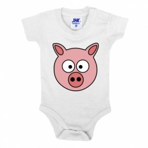 Baby bodysuit Pig