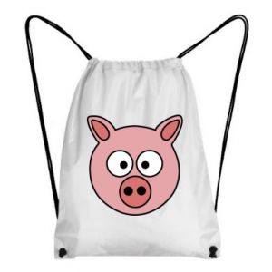 Plecak-worek Świnia