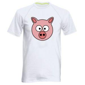 Men's sports t-shirt Pig