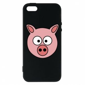 Phone case for iPhone 5/5S/SE Pig