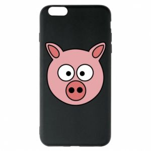 Phone case for iPhone 6 Plus/6S Plus Pig