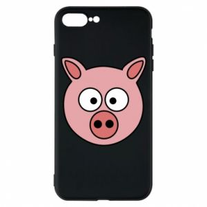 Phone case for iPhone 7 Plus Pig