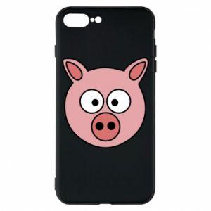 Phone case for iPhone 8 Plus Pig